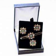 Scots Guards - Cufflinks, Tie Slide or Boxed Set from